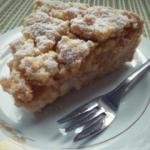Sbriciolata alle mele e crema